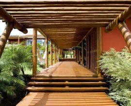 Pergolado de madeira para varanda