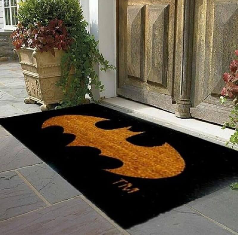 capachos divertidos com simbolo do batman Foto Pinosy