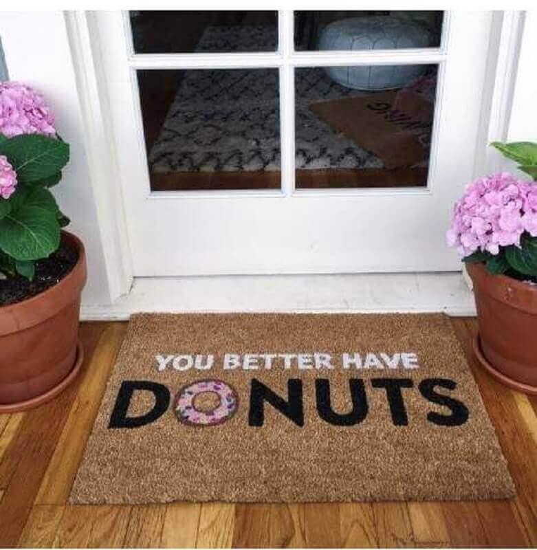 capachos divertidos para quem adora donuts Foto YellowHome