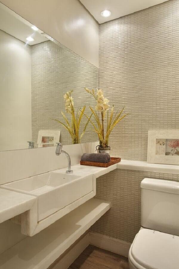 cuba para lavabo todo branco  Foto Archilovers