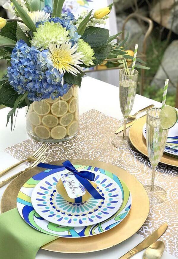 decoração dia das mães inspirada em frutas