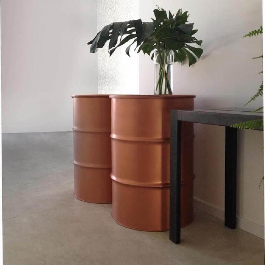 decoração em cobre Foto Toneo