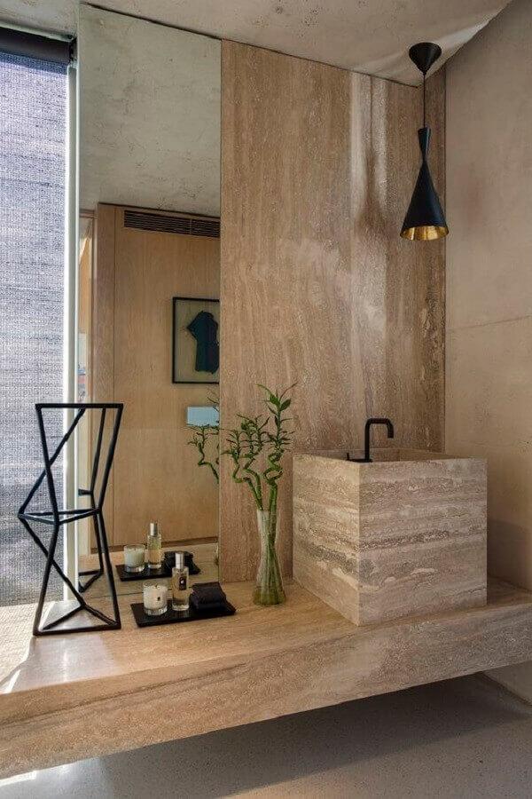 decoração moderna com cuba para lavabo Foto Archilovers