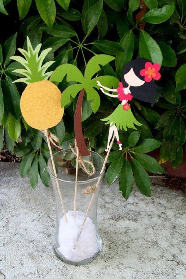 enfeites para decoração de festa luau simples Foto Neu dekoration stile