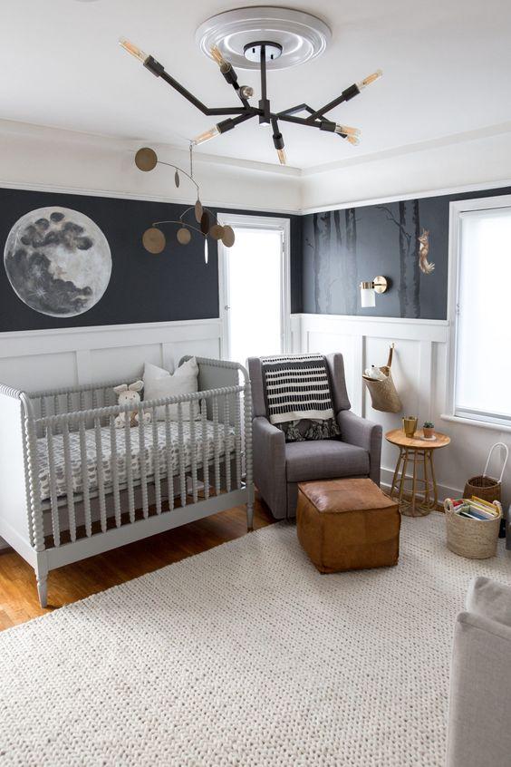 Lustre para quarto de bebê