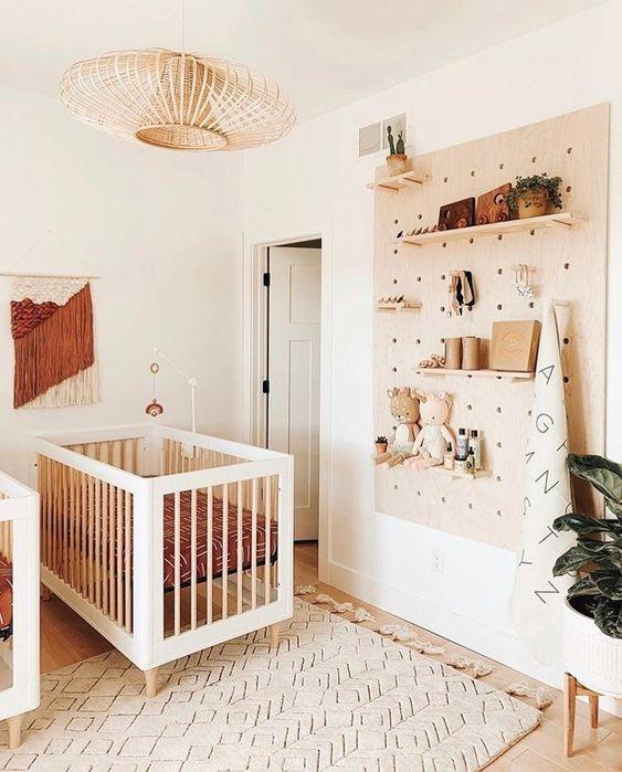 Lustre para quarto de bebê lindo