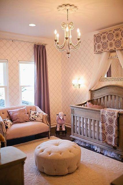 Lustre para quarto de bebê moderno