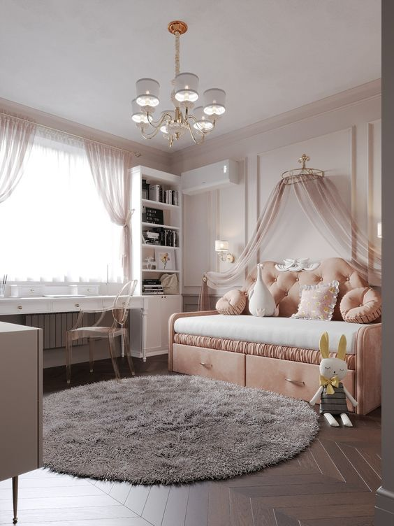 Lustre para quarto de bebê de princesas