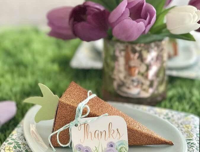 modelo de lembrancinhas de chocolate com cenoura de dobradura  Foto Black Twine