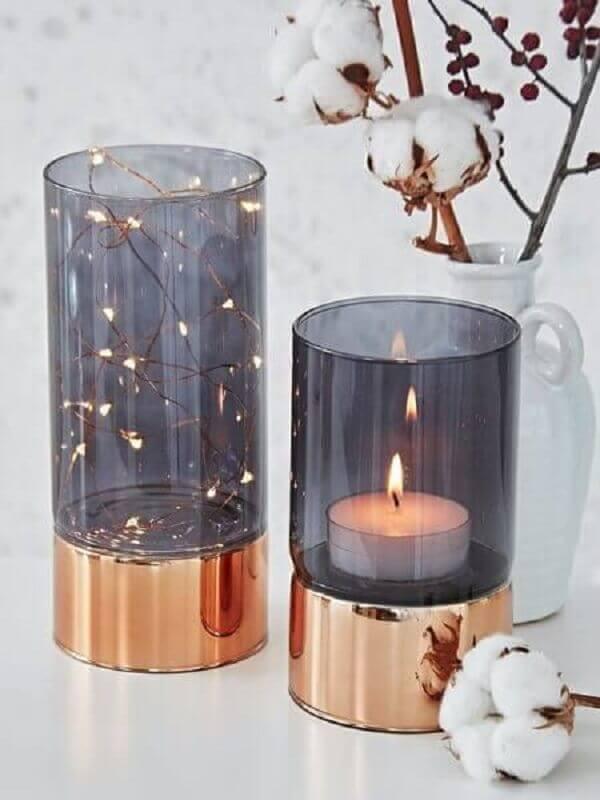 peças de cobre para decoração delicada Foto Jirah Merizz