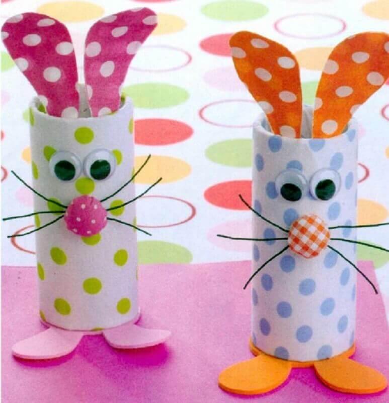 rolo de papel higiênico para lembrancinhas de páscoa para escola Foto Riscos e Desenhos