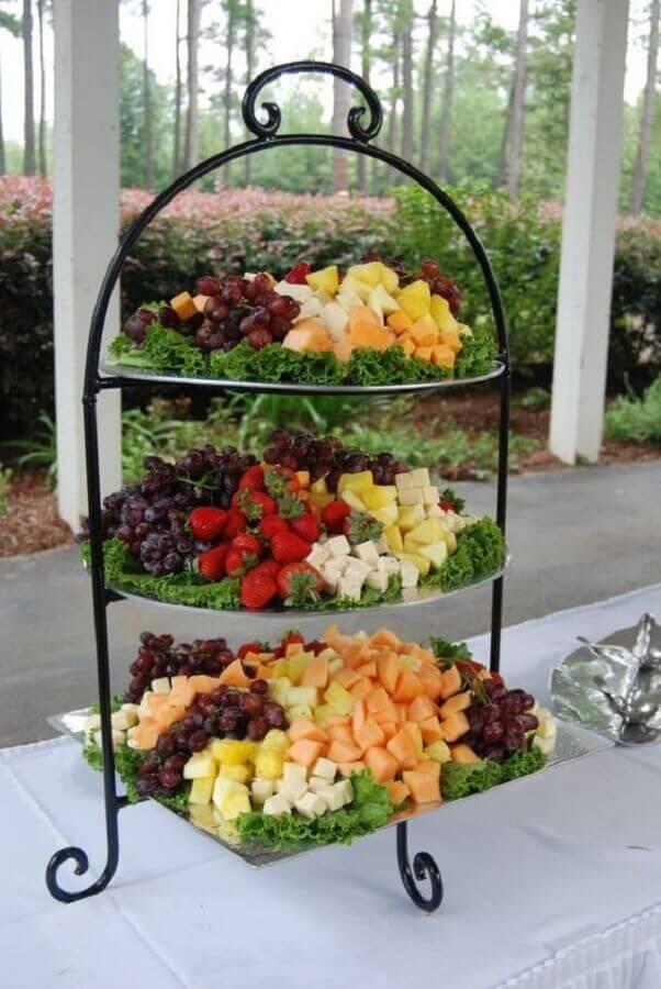 suporte de mesa de frutas para casamento Foto Air Freshener