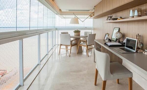 Cortina de vidro em apartamentos