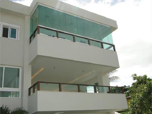 Cortina de vidro principais vantagens