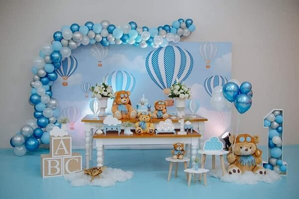 Delicate and special decoration with bear theme