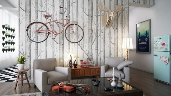 Decoração vintage para apartamento