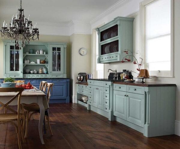 Decoração vintage para cozinha