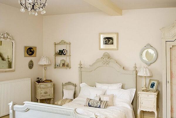 Decoração vintage para quarto de casal