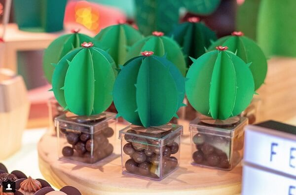 Details that make all the difference at the cactus-themed birthday party