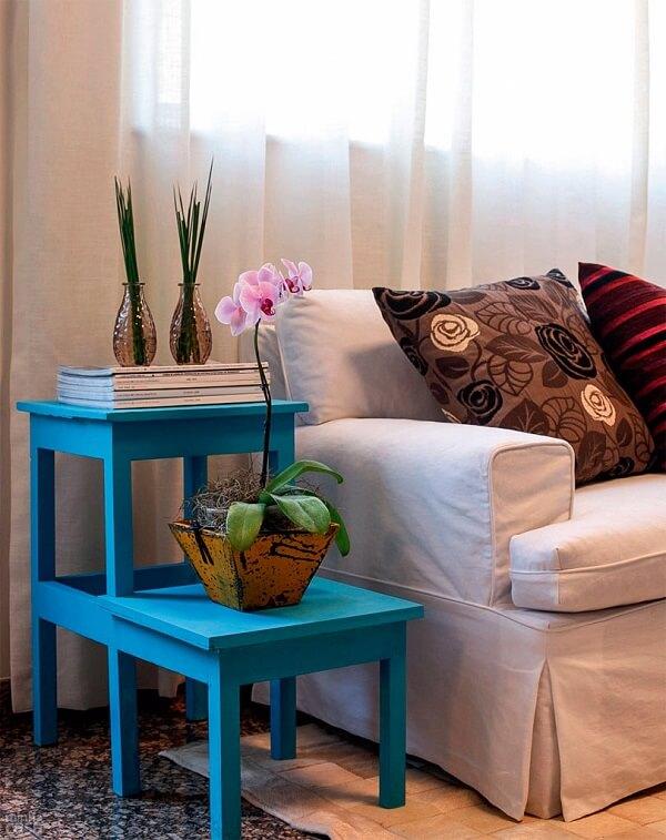 Elegância e sofisticação nos detalhes em azul turquesa
