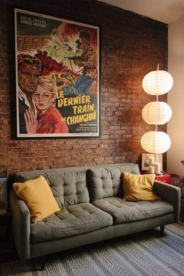 Mescle decoração vintage com decoração moderna