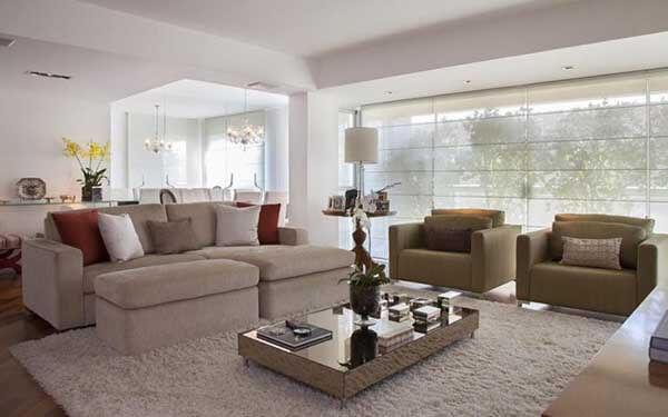 Modelos de cortinas com transparência