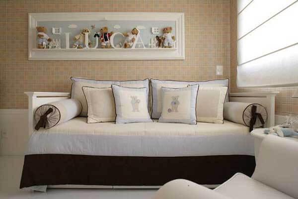 Modelos de cortinas em quarto de bebê