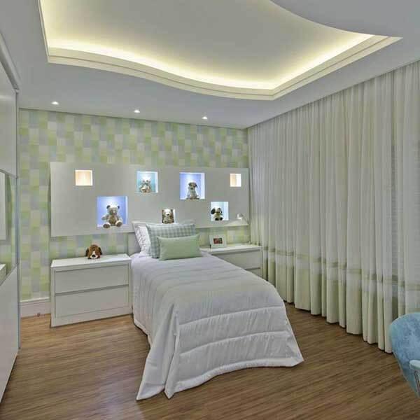 Modelos de cortinas em quarto de criança