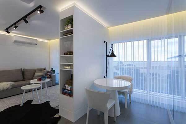 Modelos de cortinas em quarto