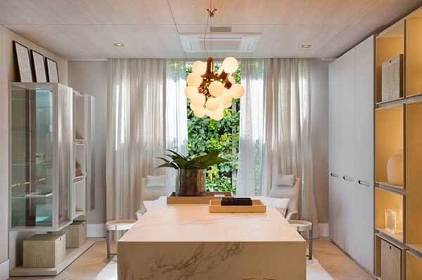 Modelos de cortinas na sala