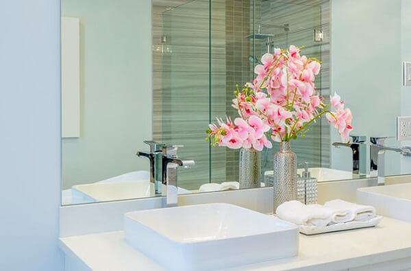 Plantas para banheiro arranjo pequeno