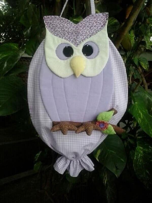 Puxa saco com tecido 100% algodão e forro