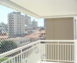 Tela de proteção em janela