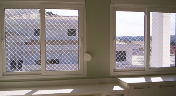 Tela de proteção na janela