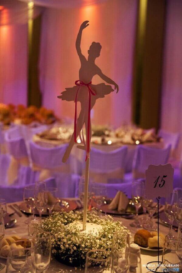 arranjo de mesa com mosquitinhos para festa bailarina Foto Air Freshener
