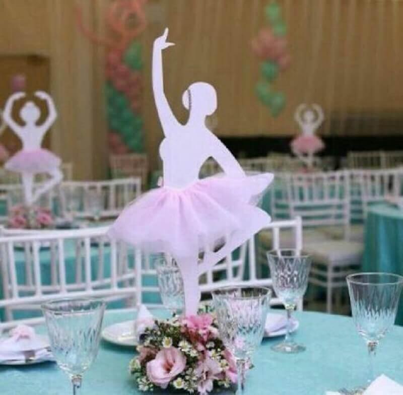 arranjo de mesa para decoração festa bailarina Foto Air Freshener