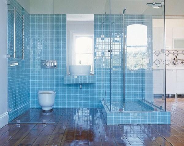 box para banheiro transparente