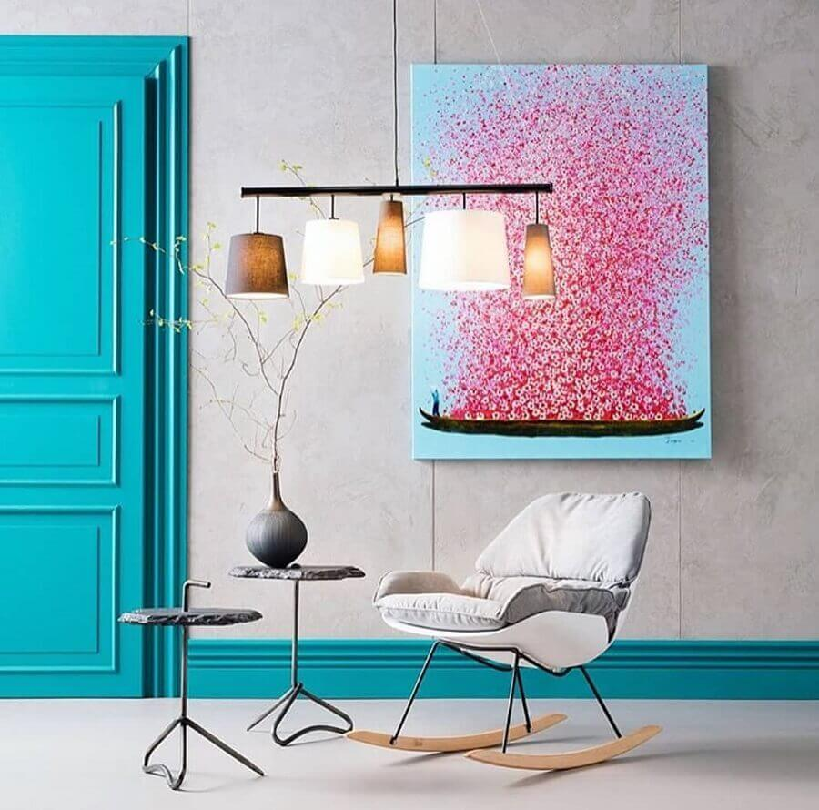 cadeira de balanço moderna e confortável Foto Kare KL