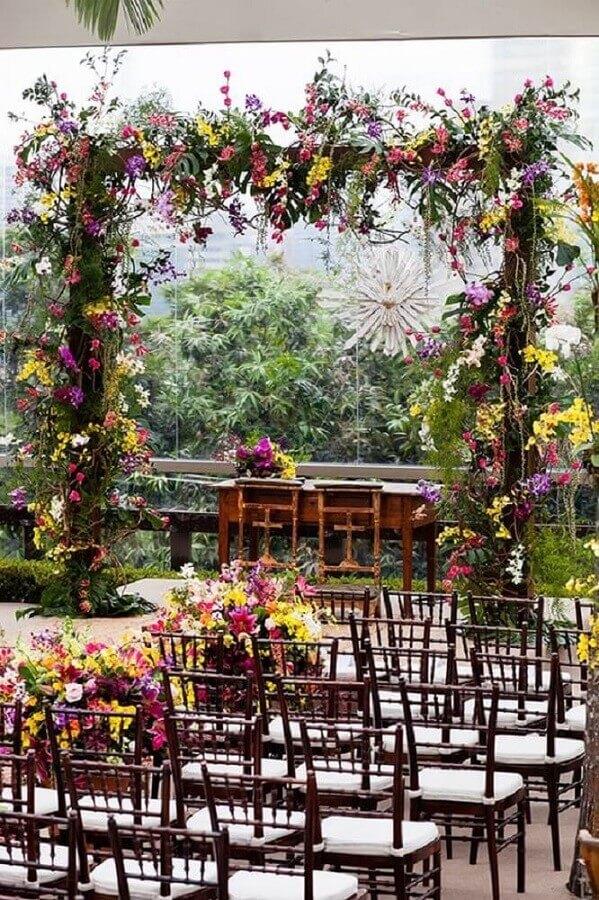 decoração de casamento ao ar livre Foto Classy World