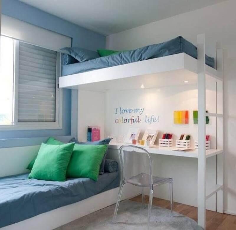 decoração para quarto de gêmeos planejado Foto 321achei