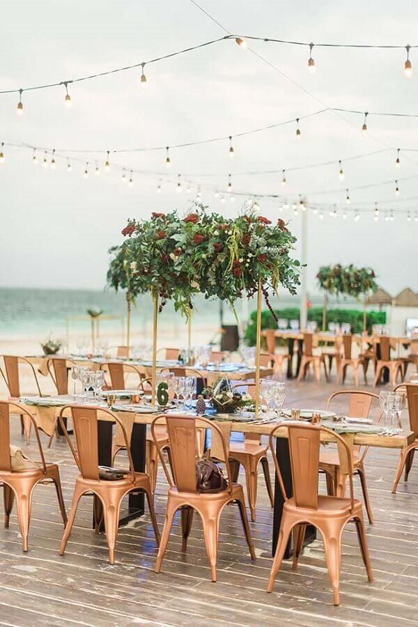 decoração simples para casamento ao ar livre Foto Wedding Theme