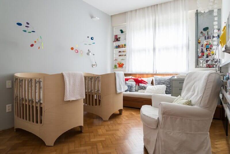 decoração simples para quarto de gêmeos Foto Casa e Jardim