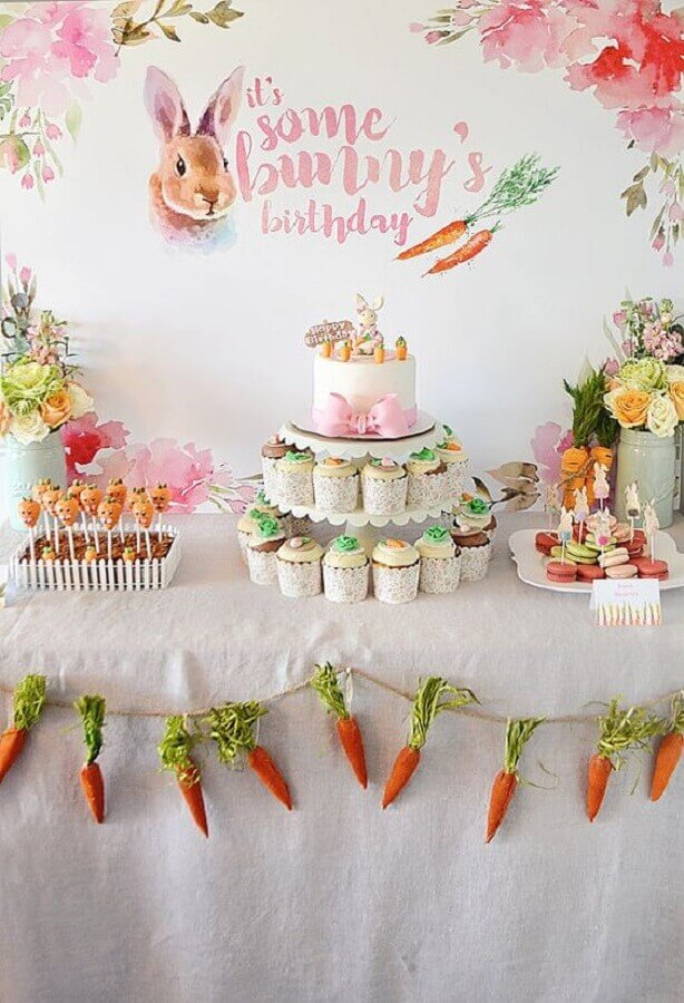 birthday party with Easter decoration Photo Etsy