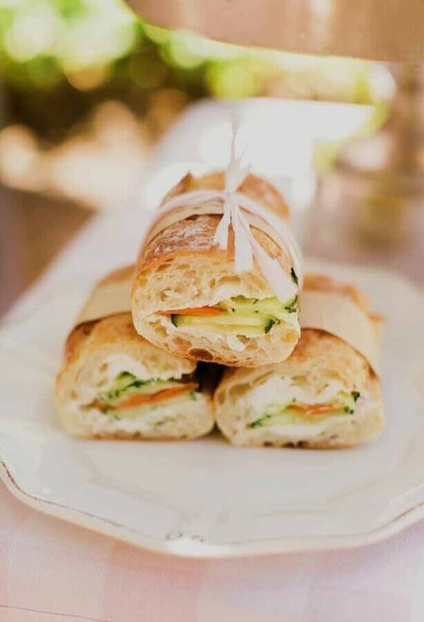 birthday party with Foto Pinterest sandwiches