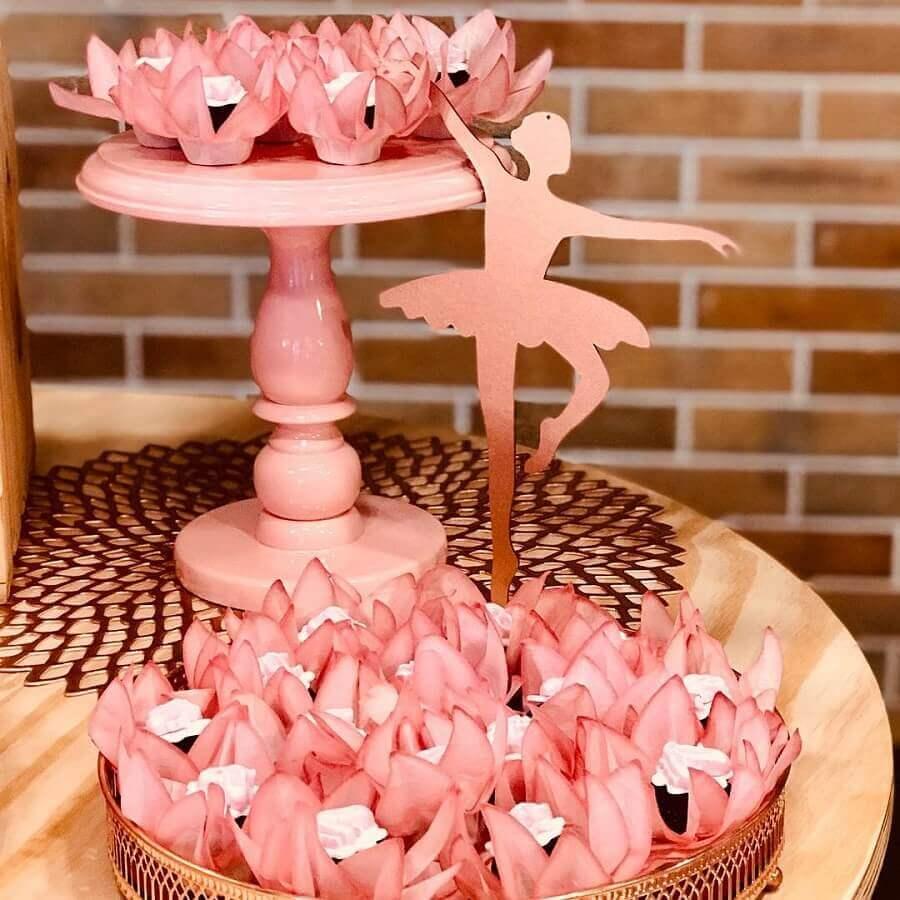 ideias de decoração para mesa de festa bailarina Foto Chris Kessler