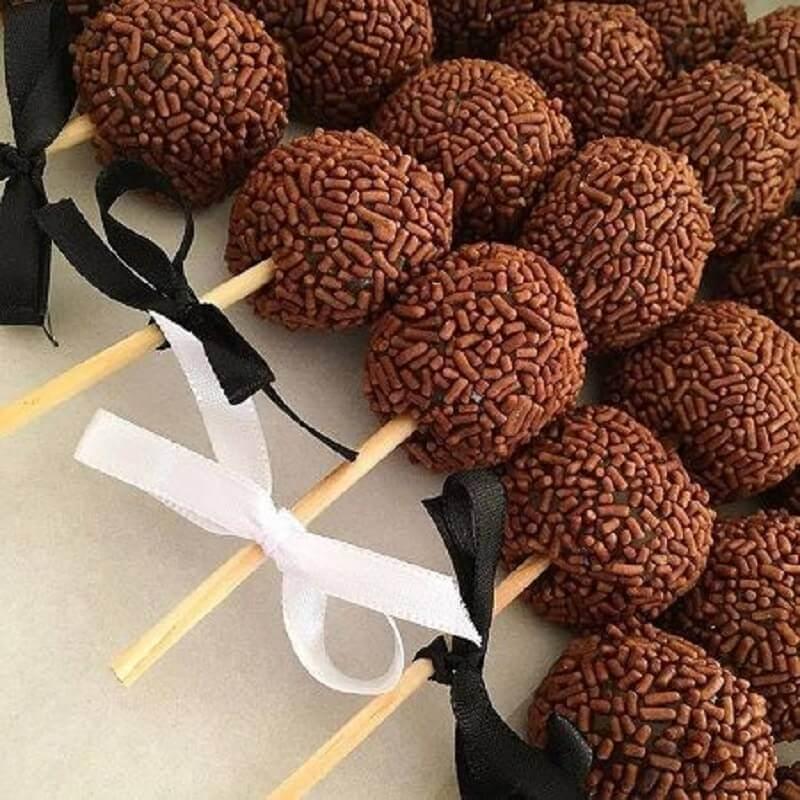 ideias para doces para festa de aniversário Foto Pinosy