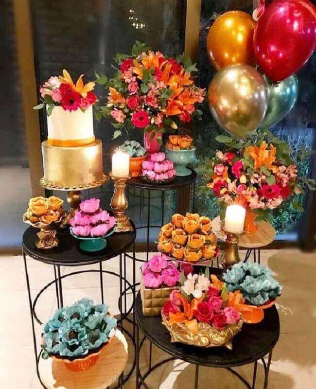 birthday party ideas with colorful Photo Event Couture