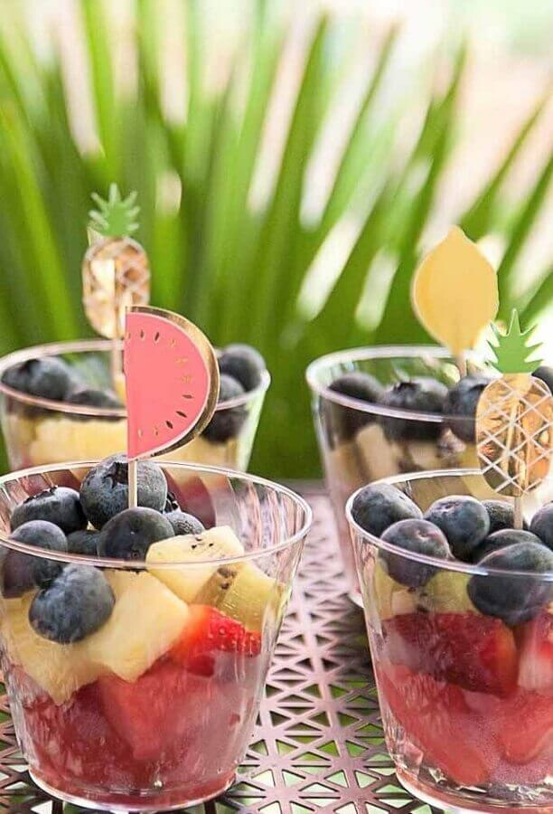 ideas for birthday party with fruit salad Foto Pinosy