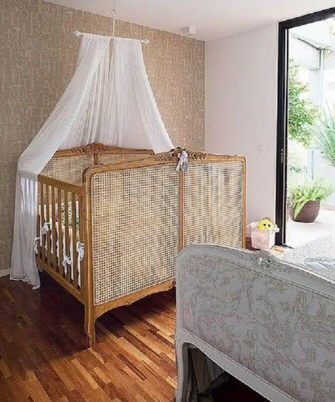modelo de berço para quarto de bebê gêmeos Foto Neu dekoration stile
