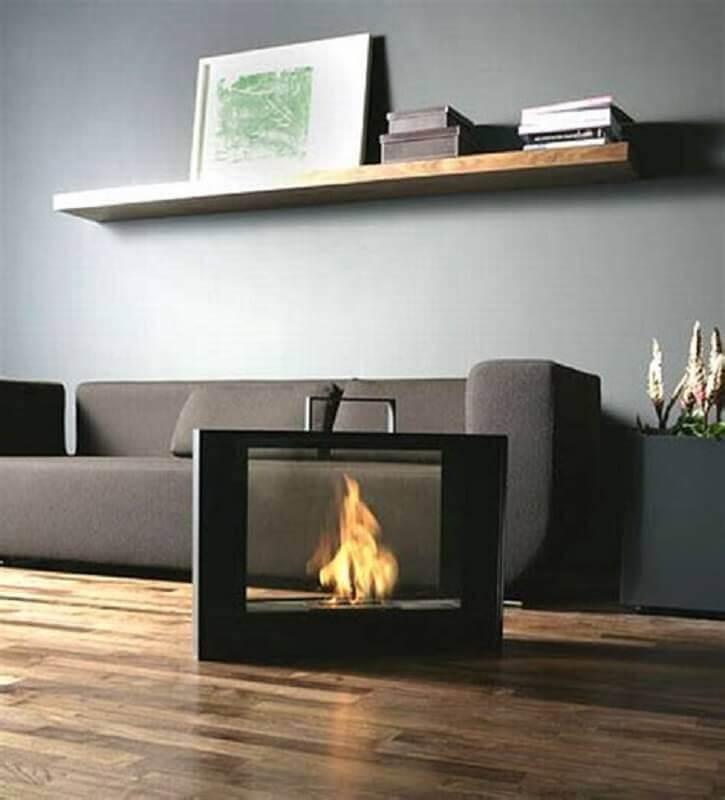 modelo de lareira elétrica portátil moderna Foto Air Freshener